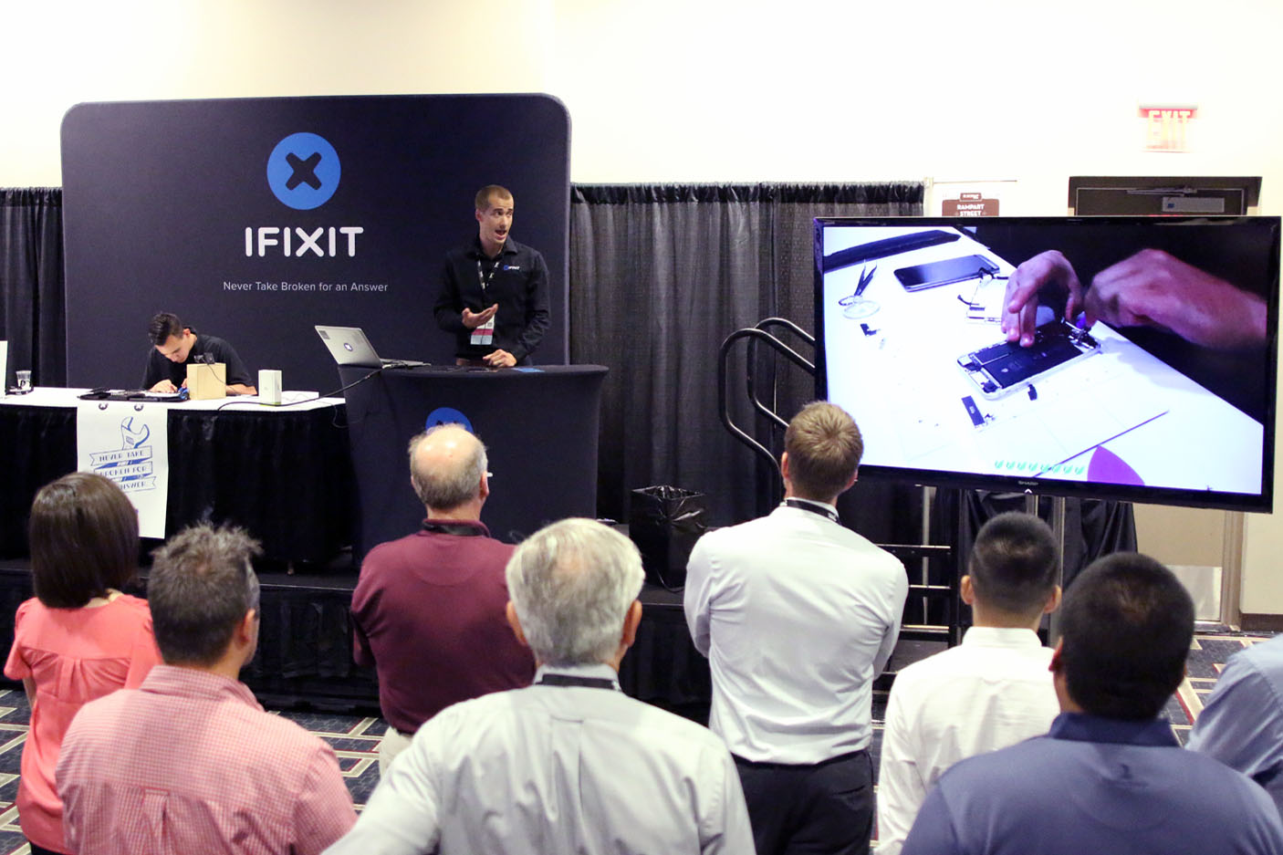 iFixit at E-Scrap Conference 2016