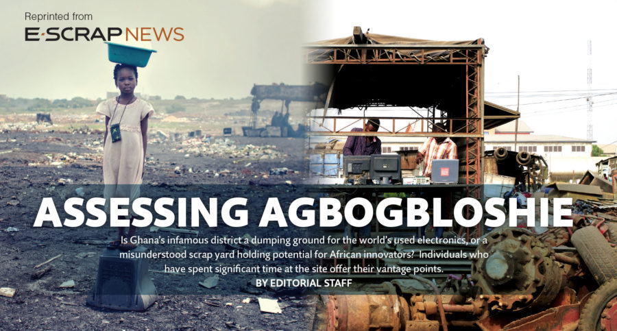 Assessing Agbogbloshie, E-Scrap News, June 2016