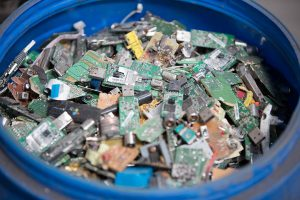 e-scrap for recycling