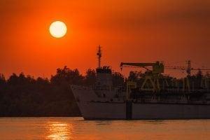 Thailand river cargo