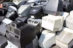 CRT monitor recycling