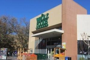Whole Foods Market storefront.