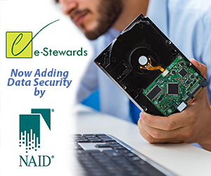 e-Stewards - NAID ad