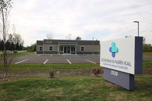 New Schupan & Fabri-Kal Employee Health Center.