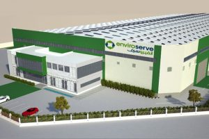 Rendering of Enviroserve facility coming to Dubai in 2019.
