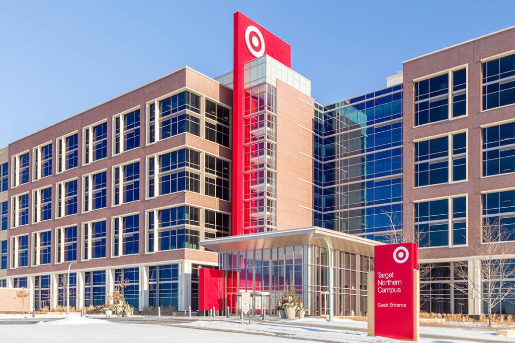 Target corporate building in Minnesota.