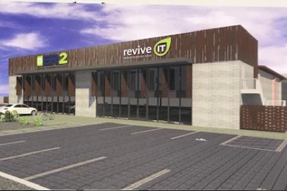 Rendering of ER2 facility in Mesa, Ariz.