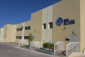 Exterior of Sims Recycling Solutions' Dubai facility.