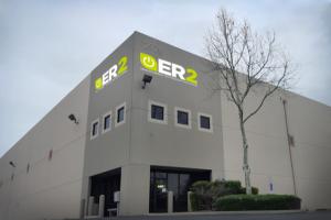 Exterior of the ER2 Sacramento facility.