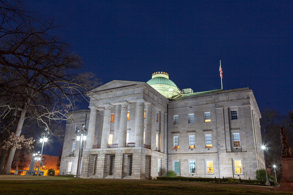 N.C. capitol building.