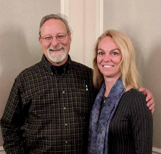 Jim Lynch and Shauna McCaffrey