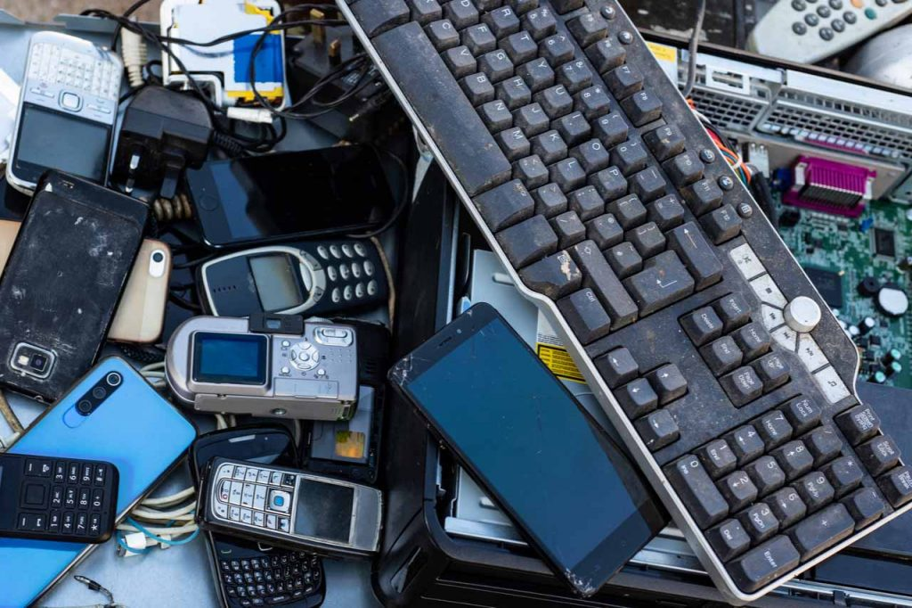 Electronics for recycling.