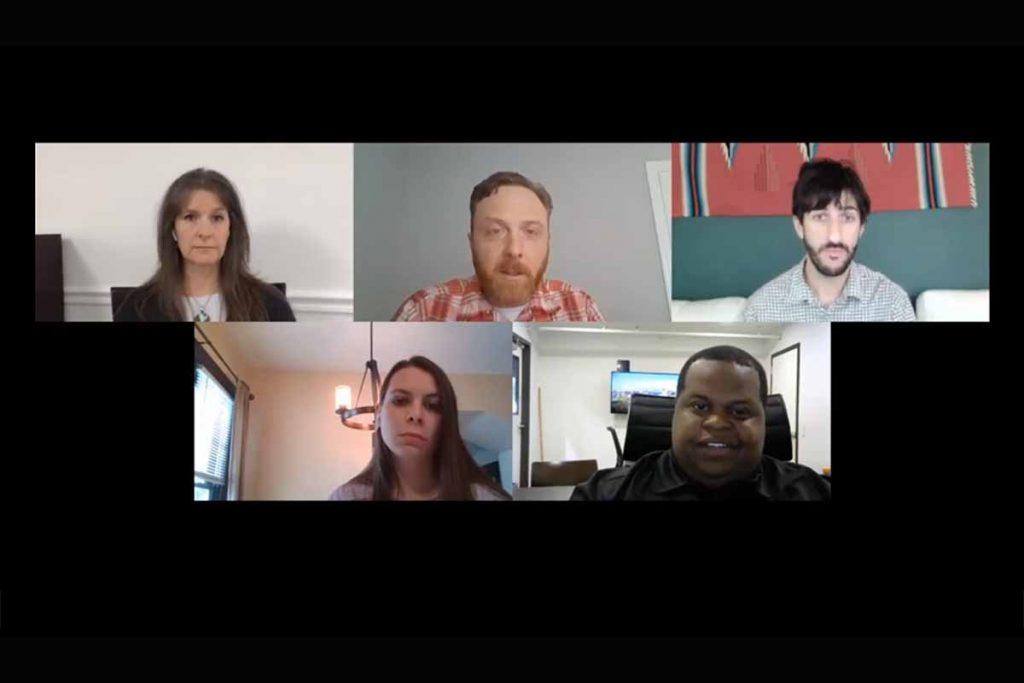 E-Scrap Virtual - Panel discussion screenshot