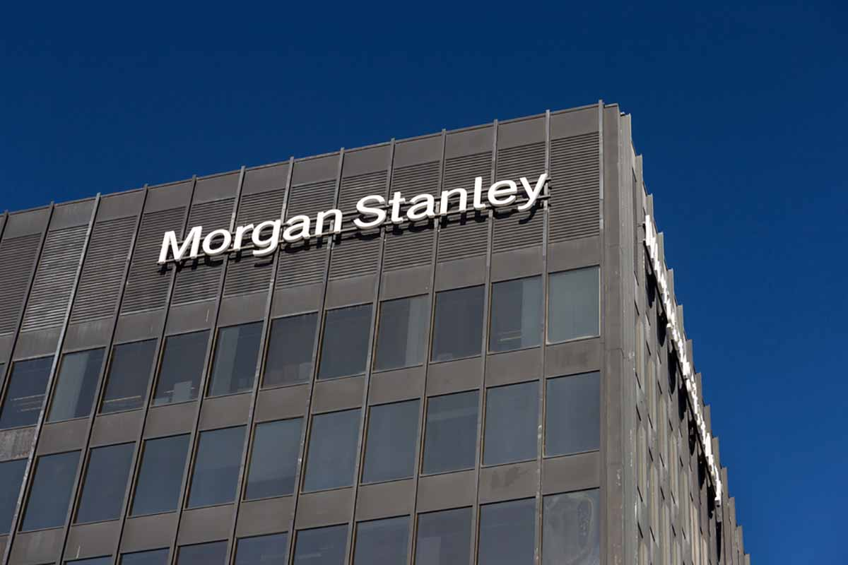 Morgan Stanley building exterior.