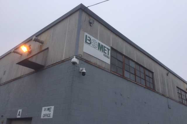 BoMet facility exterior.