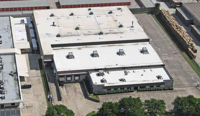 Aerial view of Gem Southwest facility.