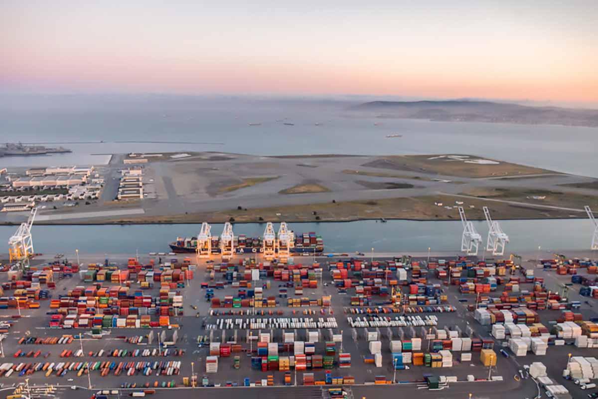 Port of Oakland, Calif.