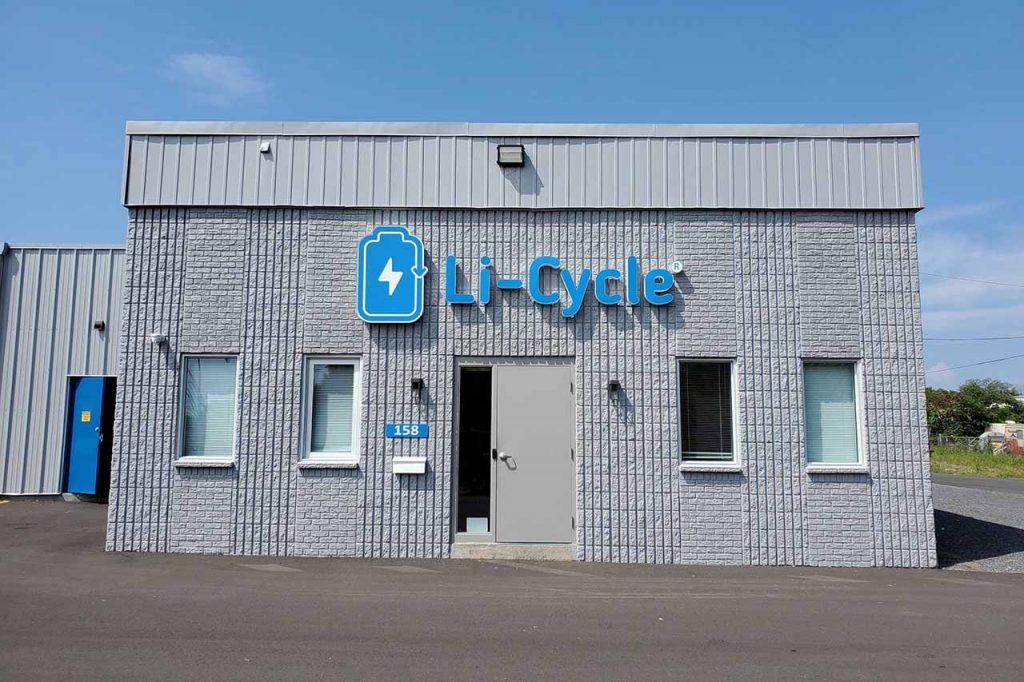 Li-Cycle facility exterior