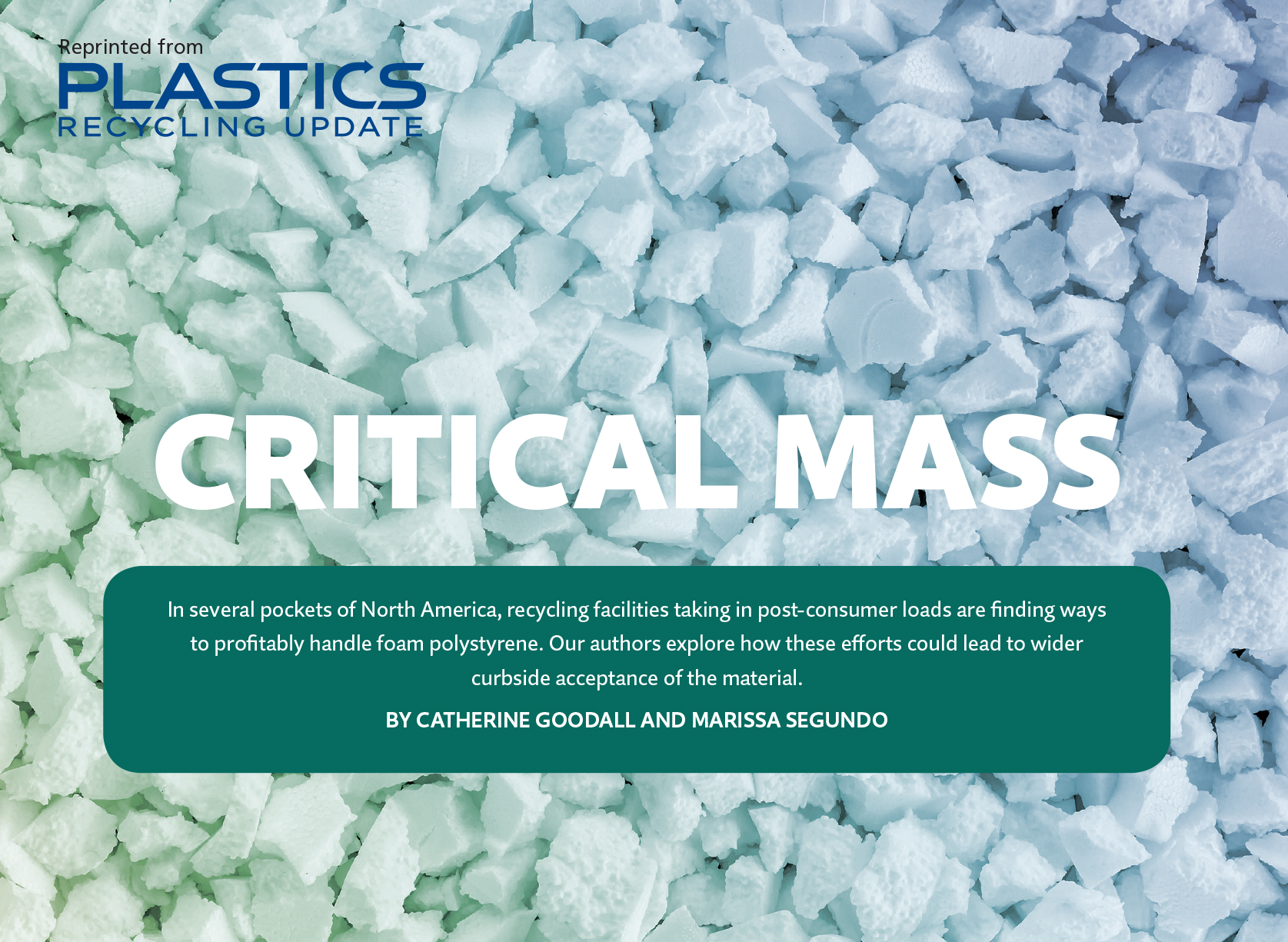 Foam polystyrene is arguably one of the most commonly used consumer  packaging materials that is not commonly recycled. While this has made it a  target of ... ca81babe8e