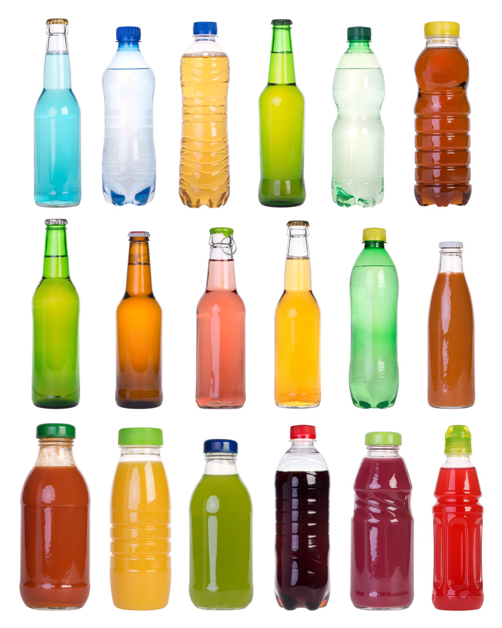 Beverage Containers / photka, Shutterstock