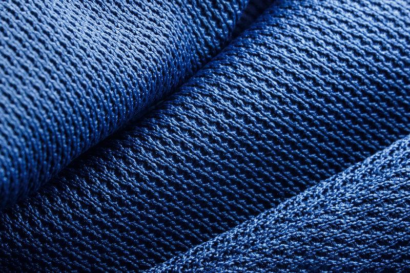 Blue Synthetic Fabric / Lukas_Jonaitis, Shutterstock