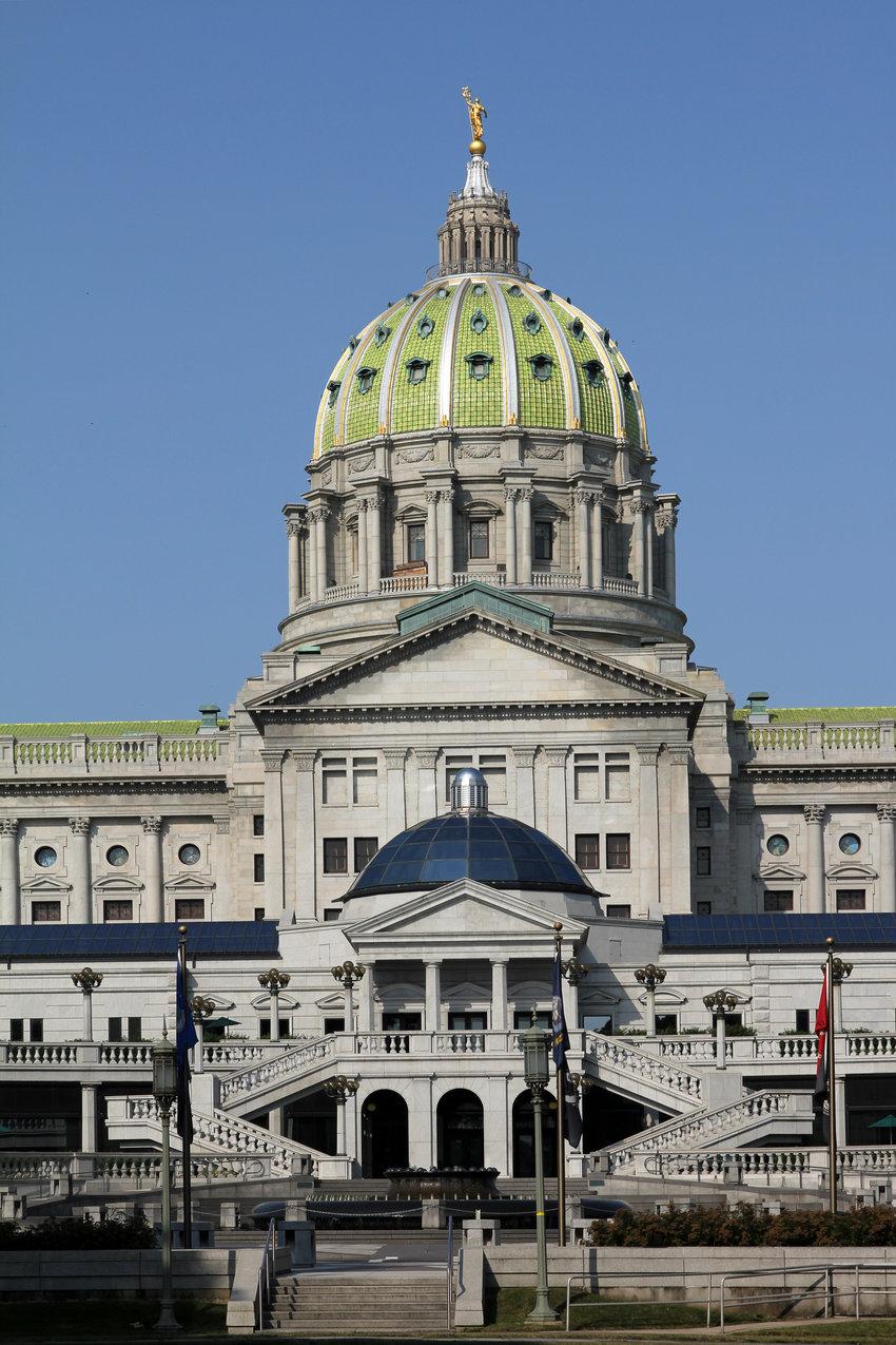 Penn capitol building / Pete Spiro, Shutterstock