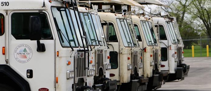SWACO transfer trucks / swaco.org