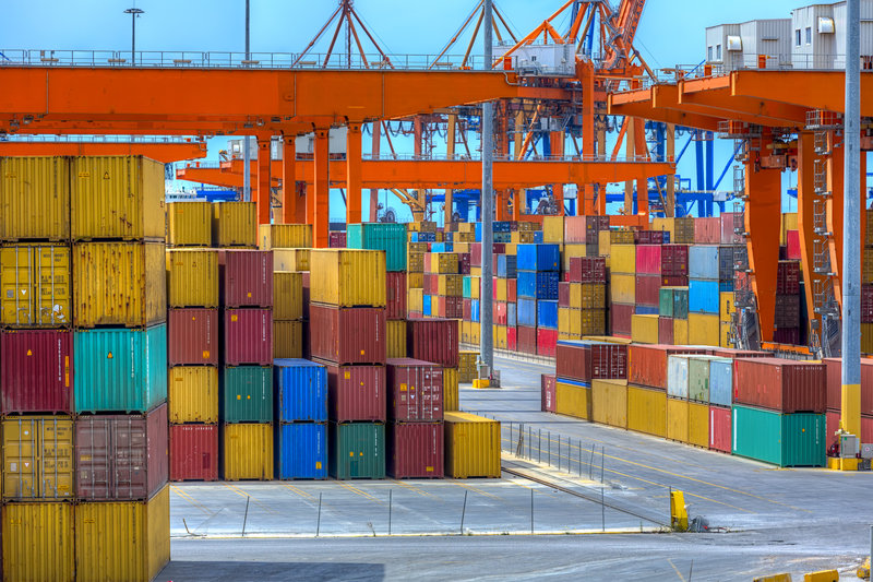 Shipping Containers / Doc_Anastasios71, Shutterstock