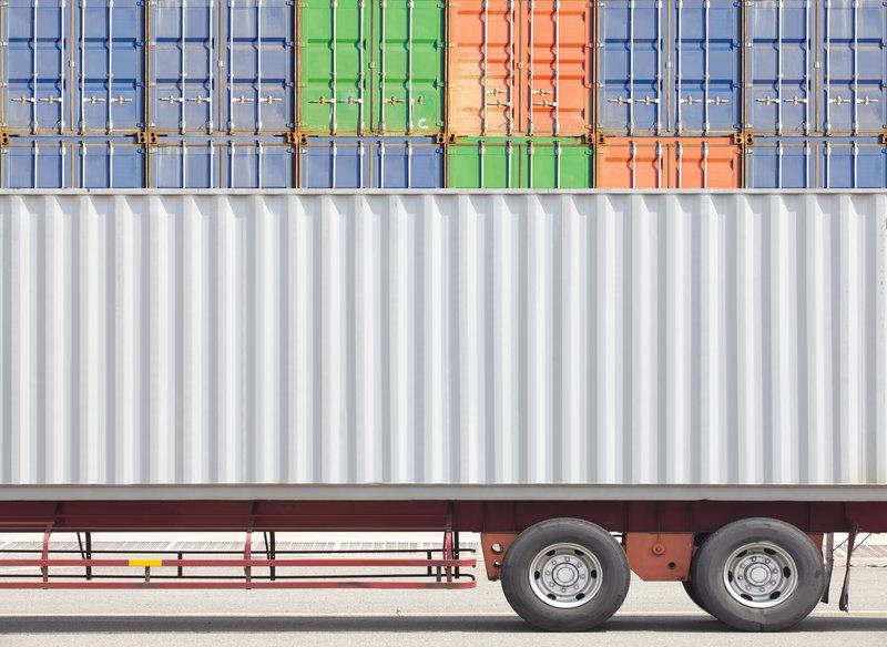 Truck Shipping Container / SakarinSawasdinaka, Shutterstock