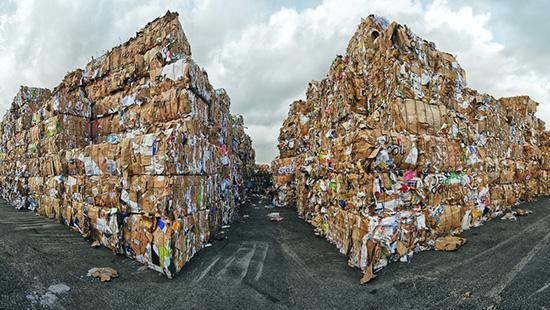 paper recycling / Grischa_Georgiew, Shutterstock