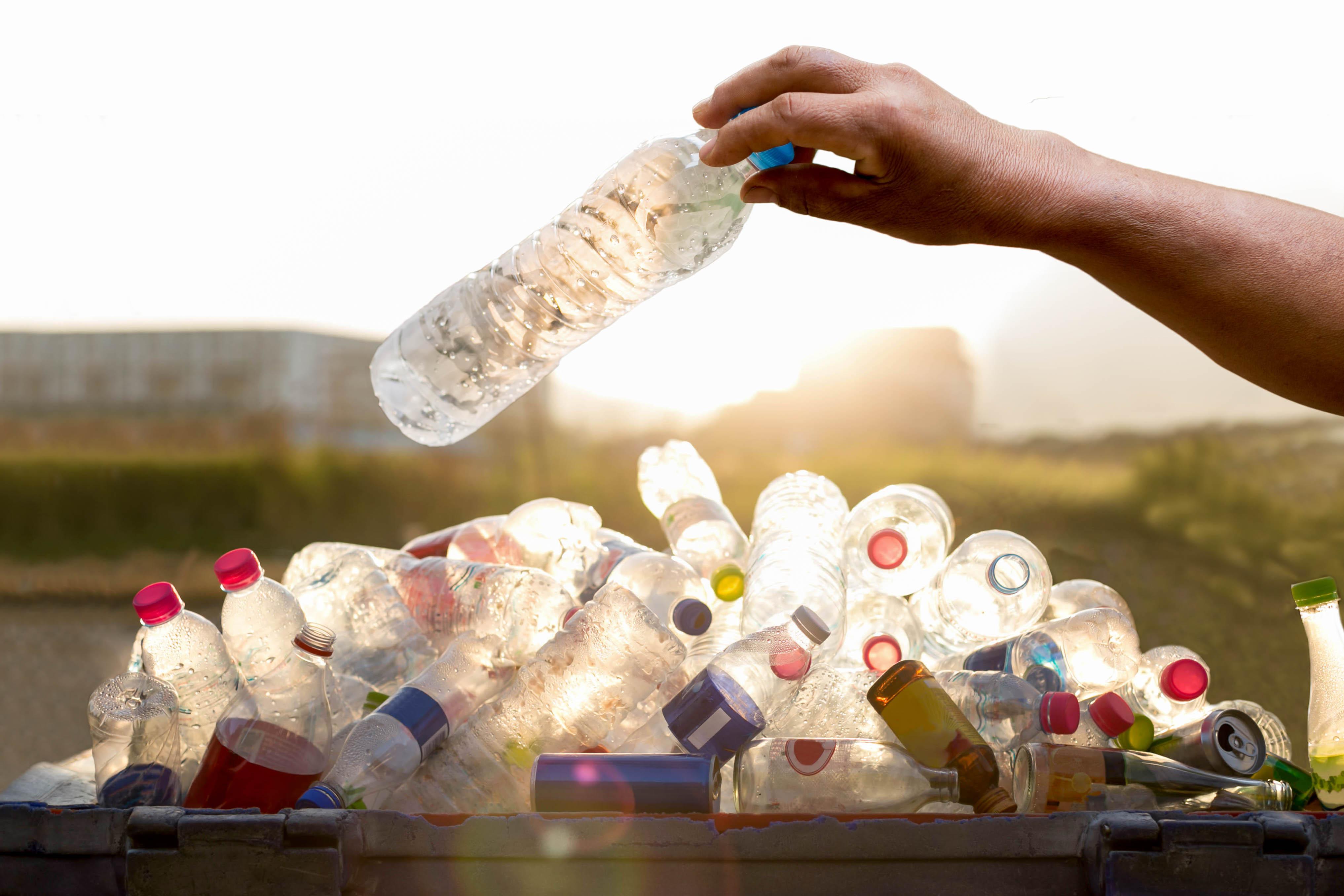 plastic bottles / Bignai, Shutterstock