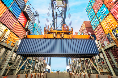 shipping container / MOLPIX, Shutterstock