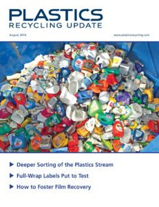 Plastics Recycling Update Aug. 2016