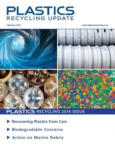 February 2016 Plastics Recycling Update