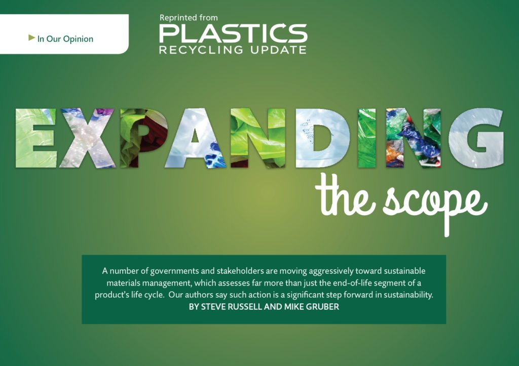 Plastics Recycling Update, Aug. 2016