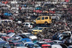 Automotive plastics recycling
