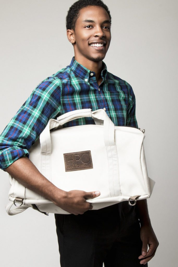 Hamilton Perkins recycled content bag