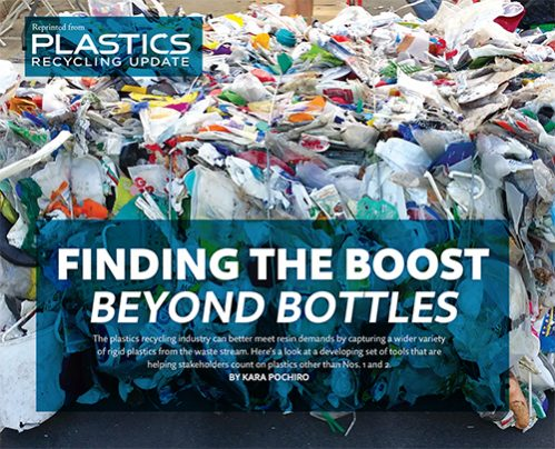 Finding the boost beyond bottles - Plastics Recycling Update