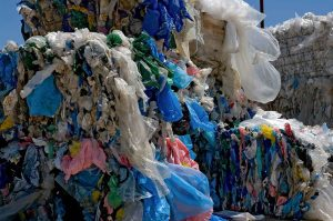 Plastic bag bales