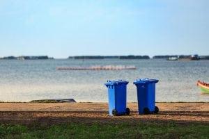 coastal recycling carts