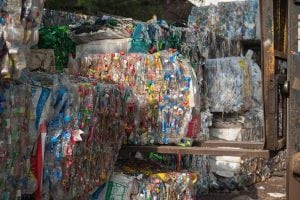 plastic bales for recycling