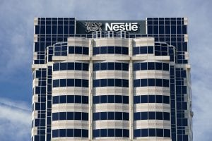 Exterior of Nestle building in California.