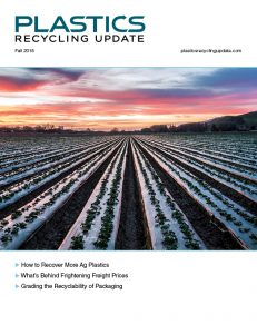 Plastics Recycling Update Magazine - Plastics Recycling Update