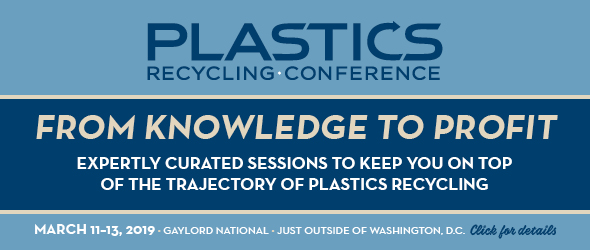 2019 Plastics Recycling Conference