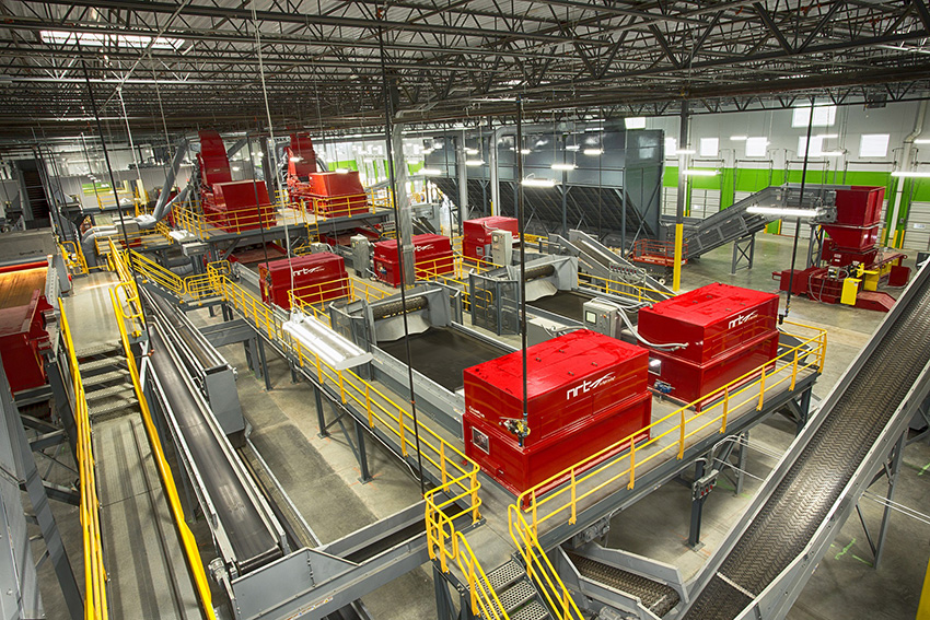 CarbonLITE's Dallas recycling facility featuring BHS equipment.
