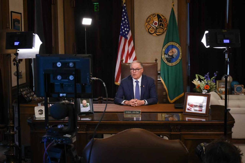Wash. Governor Jay Inslee.