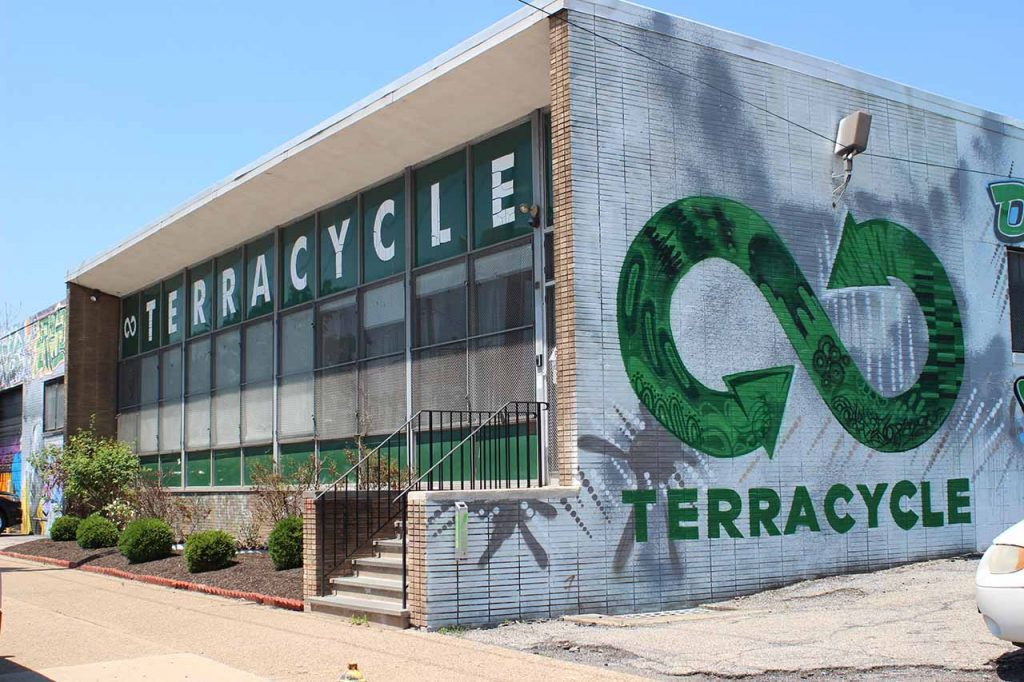 TerraCycle U.S. office in Trenton, N.J.