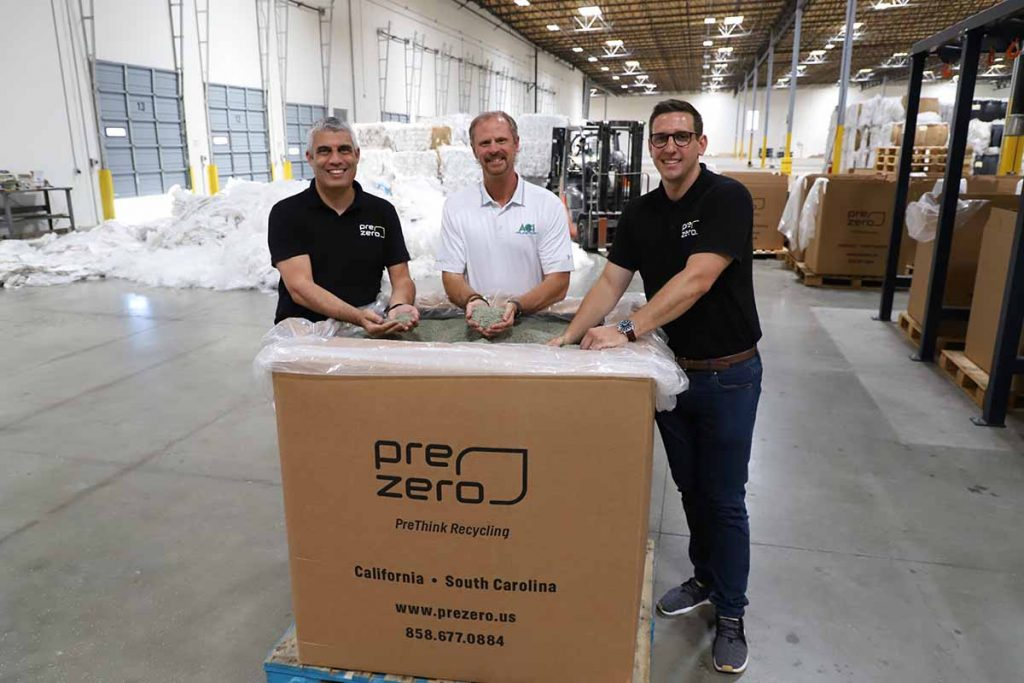 PreZero leadership staff pictured in their facility.