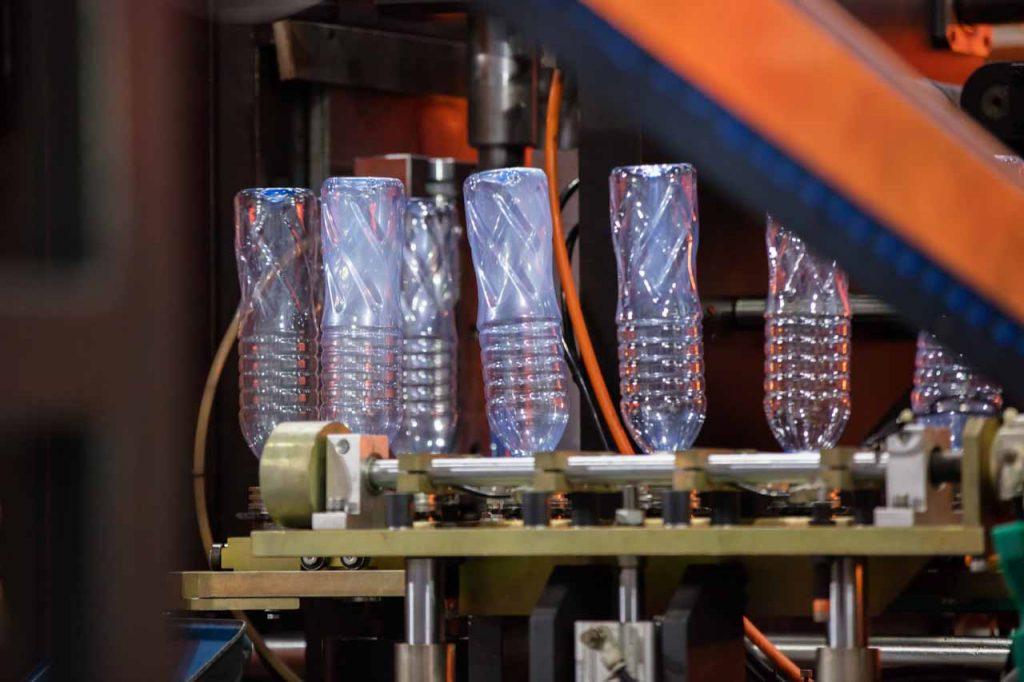 Plastic bottle manufacturing.