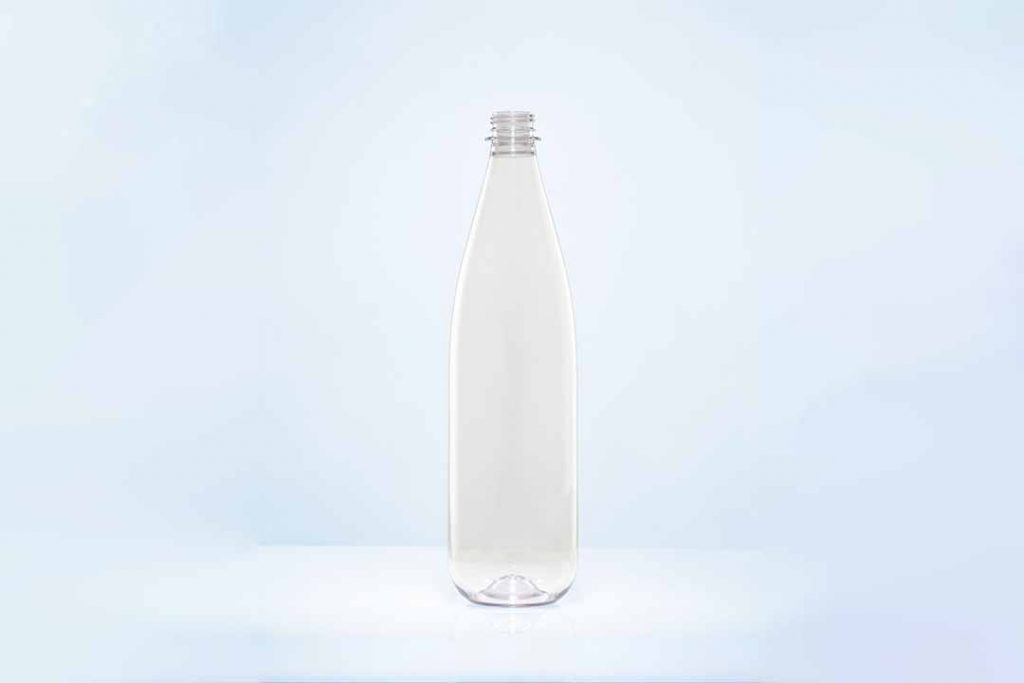 Returnable and refillable PET bottle from KHS and ALPLA.